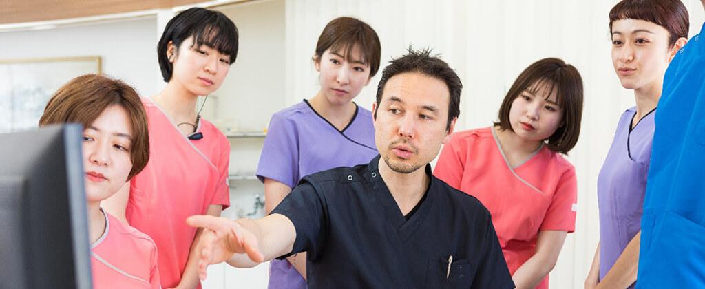 歯医者のトップ集団